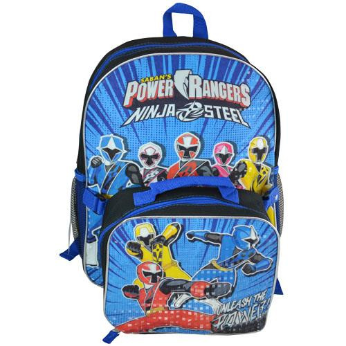 587e18cd6c61cc Backpack Power Rangers Ninja Steel w/ Lunch Bag PWRB.  http://store-svx5q.mybigcommerce.com/product_images/web/