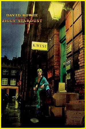 """Ziggy Stardust 36x24/"""" Wall Art n241403 Poster David Bowie Studio B"""