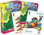 Playing Cards Peace Frogs Poker Games 52410