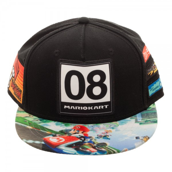 80a33ca2c Baseball Cap Nintendo Super Mario Kart Youth Omni Color Snapback sb3i43ntn