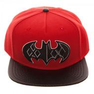 Baseball Cap Batman Harley Quinn Carbon Fiber Snapback sb547bbtm
