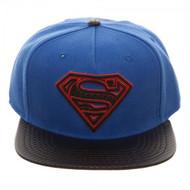Baseball Cap Superman Carbon Fiber Snapback sb547dspm