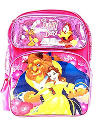 """Backpack Beauty And The Beast Beast & Belle 16"""" 110482"""