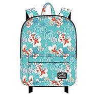 Backpack Pokemon Golden Lotus Flowers AOP School Bag pmbk0018
