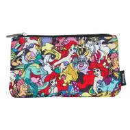 Pencil Case Disney Ariel Char AOP Coin Purse Bag wdcb0335