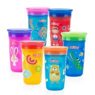 Nuby Printed 360 Wonder Cup 8oz Vary Color 10501 Baby Feeding
