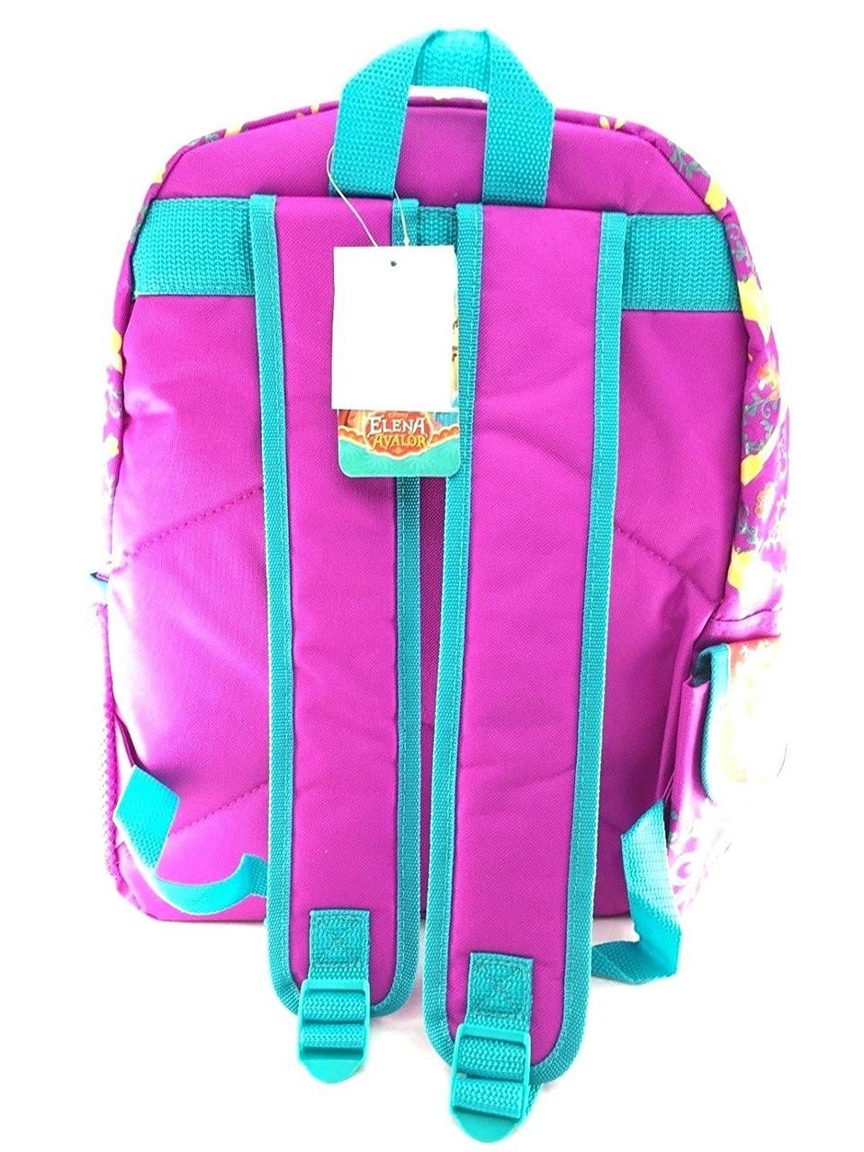 Backpack Disney Princess Elena of Avalor Shiny Purple 16