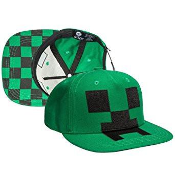 Baseball Cap Minecraft Creeper Mob Hat Applique j7613.  http   store-svx5q.mybigcommerce.com product images web  2bfa90edb0