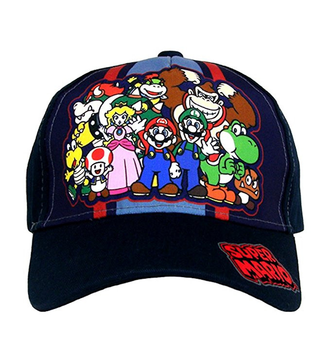 94fd20cc493f0 Baseball Cap Nintendo Super Mario Group Team Kids Boys Youth Size  NTF79013ST. http   store-svx5q.mybigcommerce.com product images web