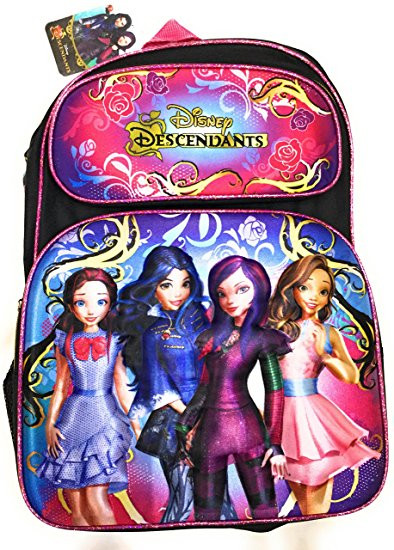 0021a0e75dc Backpack Disney Descendants Girls Deluxe 3D-Pop-Up 16