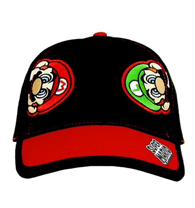e220a337312b3 Baseball Cap Nintendo Super Mario+Luigi Black Kids Boys Youth Size  NTF77358ST. http   store-svx5q.mybigcommerce.com product images web