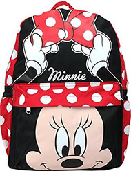 Backpack Disney Minnie Mouse Face Dot/Bow 125592