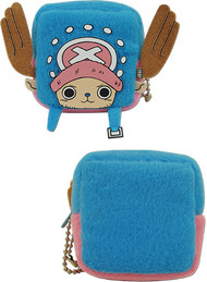 Coin Purse One Piece Chopper Cubed Plush ge20542