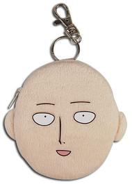 Coin Purse One-Punch Man Saitama Head Plush ge20595