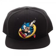 Baseball Cap Sonic Embroidered Snapback sb5ju7seg
