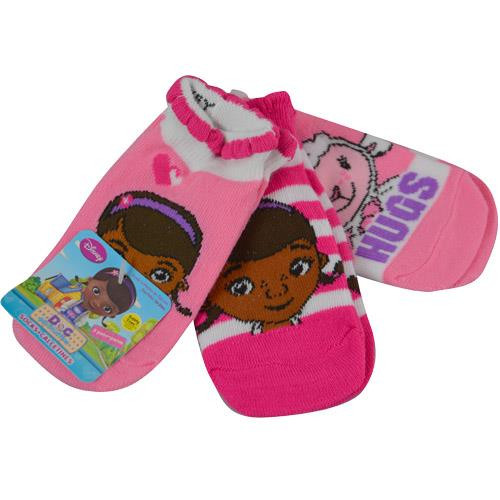 Socks Doc McStuffins Toddler Girls 3Pack 18-24M 9429FU - Hobby Hunters c49080487f28