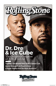Poster Dr Dre & Ice Cube Rolling Stone Cover P4467