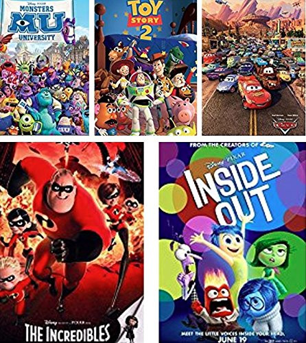 300 Piece, 750 Piece Puzzle 3704-1 2 Ceaco Disney Pixar 5-in-1 Multipack Puzzles Includes 1 550 Piece, 2