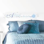 Wall Decal Disney Disney Princess Cinderella 'A Dream Is A Wish' Peel/Stick