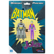 "Action Figures Batman & The Joker 3"" Bendable dc-3912"