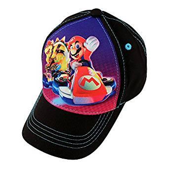 07a9fdff33a89 Baseball Cap Nintendo Super Mario Kat 3D Pop Up Kids Hat - Hobby Hunters
