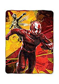Super Soft Throws Ant-Man & The Wasp Red & Yellow 45x60""