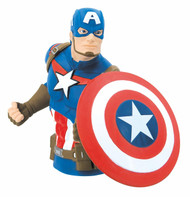 Coin Bank Avengers Captain America Bust Bank 68752