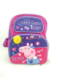 Small Backpack Peppa Pig 3D Pop-up Purple/Pink 169286