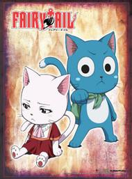 Wall Scroll Fairy Tail Carla & Happy ge60654