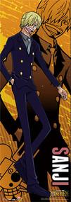 Wall Scroll One Piece Sanji World [TALL] ge81269
