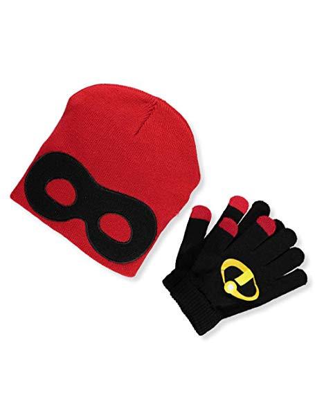 TMNT Beanie Cap Raphael Red /& Mittens Set 301762-red