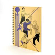 Notebook Star Trek School Folder Hardcover New STOL326