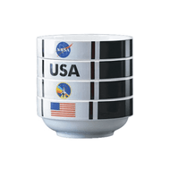 Bowl Set NASA Shuttle Stackable New NASO606