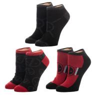 Ankle Socks Deadpool 3 Pack xs6q7wmvu