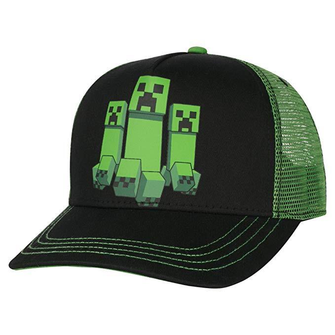 f68e09f41ba Baseball Cap Minecraft Creeper Rush Hat j8322.  http   store-svx5q.mybigcommerce.com product images web