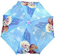 Umbrella Disney Frozen Elsa+Anna Blue Snow