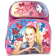 "Small Backpack JoJo Siwa Bow & Unicorn 12"" School Bag 004415"