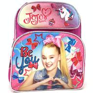 "Small Backpack JoJo Siwa Bow & Unicorn 12"" School Bag 004415"