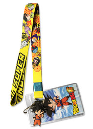 Lanyard Dragon Ball Z Son Goku Yellow ge37941