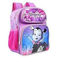 "Small Backpack Disney Vampirina Bat Purple 12"" Bag 001889"