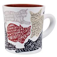 Mug Literary Cat Coffee Cup 5375