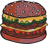 Patch C&D 50's Retro Burger Iron-On p-3619