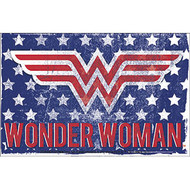 Sticker DC Comics Wonder Woman Stars & Stripes s-dc-0181