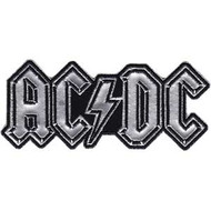 Patch ACDC Logo Silver Iron-On p-3235-ch