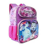 "Backpack Disney Vampirina Bat Purple 16"" School Bag 001896"