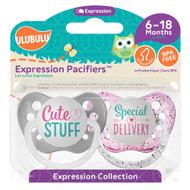 Pacifiers Ulubulu Cute Stuff & Special Delivery  (6-18M)