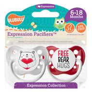 Pacifiers Ulubulu Heart Bear & Free Bear Hugs (0-6M)