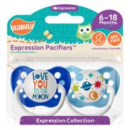 Pacifiers Ulubulu Love you to the Moon & Galaxy  (6-18M)