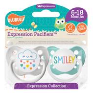 Pacifiers Ulubulu Cloud Rainbow & Smiley (6-18M)