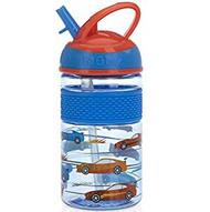 Baby Feeding Nuby Flip-it Freestyle Hard Straw Cup Blue Cars 80264